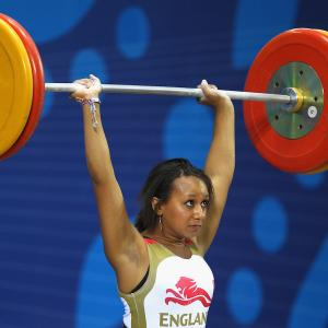 Zoe Smith weightlifter